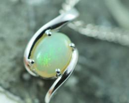 Cute Stylish Crystal Opal Pendant  CCC 2995