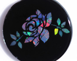 5.8 Cts Opal Mosaic Flower Design    CCC 2347