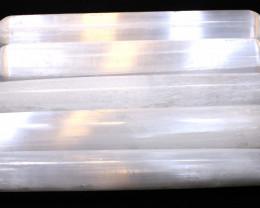 5 PCS  Selenite Wands 3620 CTS