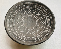 Tribal Design Afro 3 leg Bowl Decor  code C-AFRBOWL8