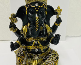 Ganesh Gold n Black   code C-GANGGOLD part a