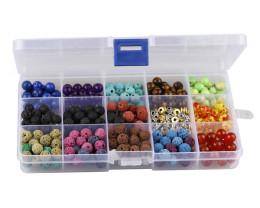 8 mm Chakra  Beads DIY Set     code AHA 469