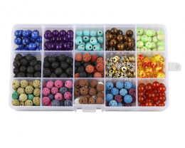 8 mm Chakra  Beads DIY Set     code AHA 471