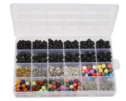 Massive Lava   Beads  DIY Set     code AHA 473