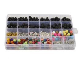 Massive Lava   Beads  DIY Set     code AHA 474