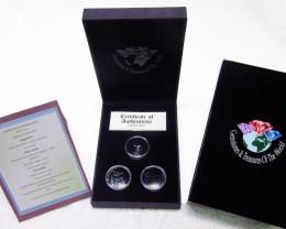 Treasures of the world ,Sapphire ,Diamonds,Emeralds, AOS 101