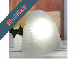 20cm Selenite Wave Lamp x4 - Wholesale