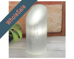4 x Selenite Small Lipstick Lamp - Wholesale