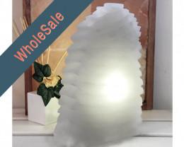 30cm Selenite Wave Lamp x4 - Wholesale