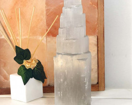 30cm Selenite Tower (No Hole)
