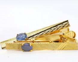 Australian Opal Tie clips TTC2