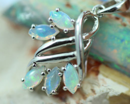 Cute Stylish Crystal Opal Pendant  CCC 3101