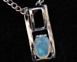Cute Stylish Crystal Opal Pendant  CCC 3149