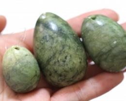 Yongi 3 pc jade Egg Wand set AHA 561