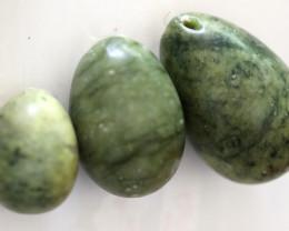 Yongi 3 pc jade Egg Wand set AHA 562