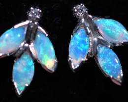 Cute Stylish Crystal Opal Earrings  CCC 3525