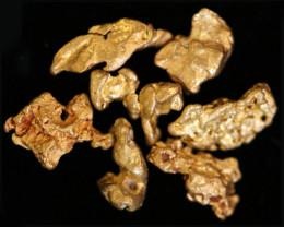 0.38-0.40  Grams - ONE NUGGET ONLY -  Kalgoorlie Gold Nugget LGN  1839