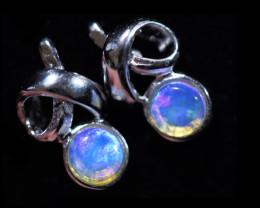Cute Stylish Crystal Opal Earrings  CCC 3535