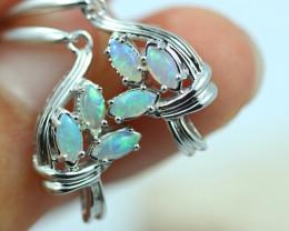 Cute Stylish Crystal Opal Earrings  CCC 3544