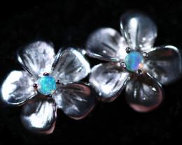 Cute Stylish Crystal Opal Earrings  CCC 3555