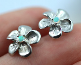 Cute Stylish Crystal Opal Earrings  CCC 3556