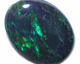3.20 CtsLarge  Lightning Ridge Black  Opal FO 1112