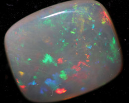 3.25 Cts Mintabie Crystal Fire Flash  Opal  FO 1165