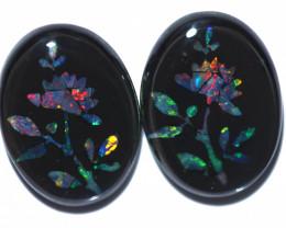 10 Cts  Australian Opal Doublet Mosaic  FO 1308