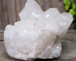 4.98kg Natural Large Druze Clear Quartz Rough DS783
