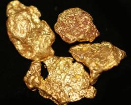 0.22 - 0.24 Grams - ONE NUGGET ONLY - Kalgoorlie Gold Nugget LGN 1890
