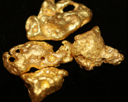 0.56 - 0.58 Grams - ONE NUGGET ONLY - Kalgoorlie Gold Nugget LGN 1897