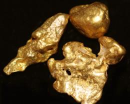 0.70 - 0.72 Grams - ONE NUGGET ONLY - Kalgoorlie Gold Nugget LGN 1899
