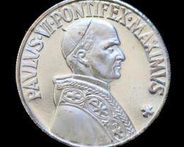 Silver 925 Proof medallion-Pontifex Maximus code co  760