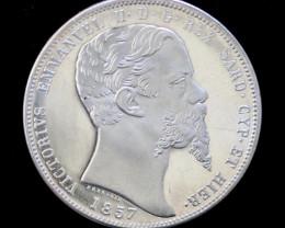 Silver 925 Proof medallion Victorius  Emm II Rex Sard Cyphier   code co 745