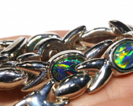 108 cts Triplet opal bracelet   RJA-1579    rarejewelry