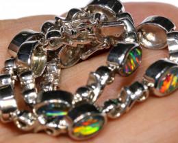 57 cts Triplet opal bracelet   RJA- 1581   rarejewelry