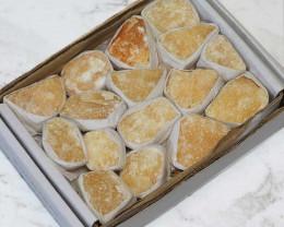 Small Flat Orange Calcite Tray