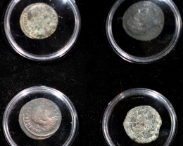 Treasures Ancient Spanish Coins set ASC   8/200