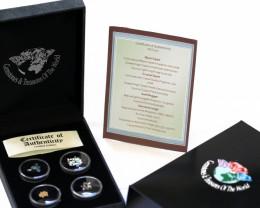 AUSTRALIA TREASURES DIAMONDS,GOLD,OPALS SERIES ASG 101