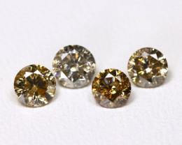 Diamond 1.00Ct Natural Untreated Genuine Fancy Diamond FO 1476