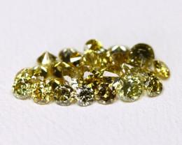 Green Diamond 1.01Ct Natural Untreated Genuine Diamond FO 1478