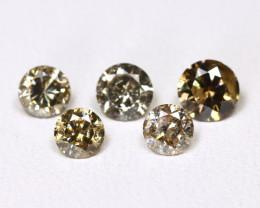 Diamond 1.01Ct Natural Untreated Genuine Fancy Diamond FO 1479
