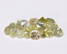 1.51Ct Yellow Color Diamond Natural Untreated Genuine FO 1484