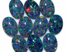 35 cts Australian Opal  Mosaic Triplets Parcels   FO 1572