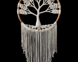 55cm Macrame Tree of Life Wall Art   code C-MACTOLWW