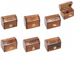6 x Box  of Indian Wooden Cone Incense   C-BOXINS