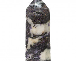 0.68kg Natural Zebra Agate Terminated Point DS794