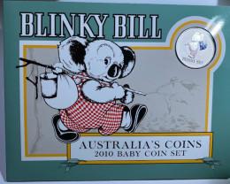 UNC MINT  2010 BLINKY BILL ONE DOLLAR BABY COIN J 1687