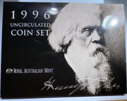 1996 Unc Sir Henry parkes Coin Set