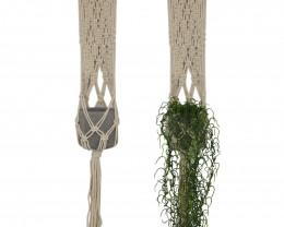 90cm Macrame Hanger with Plant Pot code C-MACLPOT